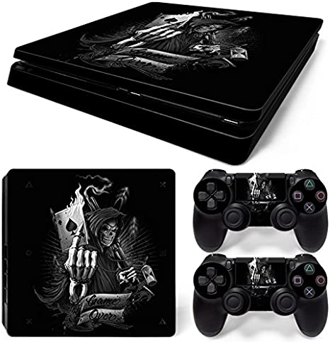 Sony PS4 Playstation 4 Slim Skin Design Foils Pegatina Set - Game ...