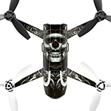 MightySkins Protective Vinyl Skin Decal for Parrot Bebop 2 Quadcopter Drone wrap cover sticker skins Wicked