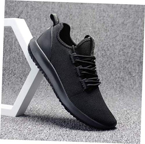 Shoes Black Size 10.5 Men Running Shoes Casual Athletic Plus Size Sneakers Gym Workout Walking Shoes