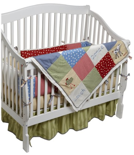 Farm Yard Crib Set - 7