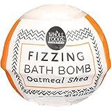 Whole Foods Market, Oatmeal Shea Fizzing Bath Bomb, 2.3 Ounce