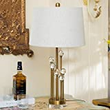 HH Postmodern Style Fashion Simple Crystal Table Lamp Bedroom Bedside Lamp Living Room Decoration Table Lamp