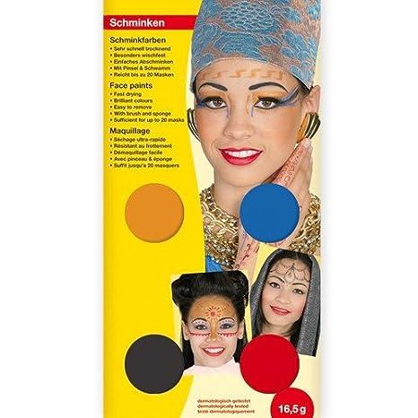 Schminkset Pharao Orientalisch Etc Makeup Schminke Fur Fasching