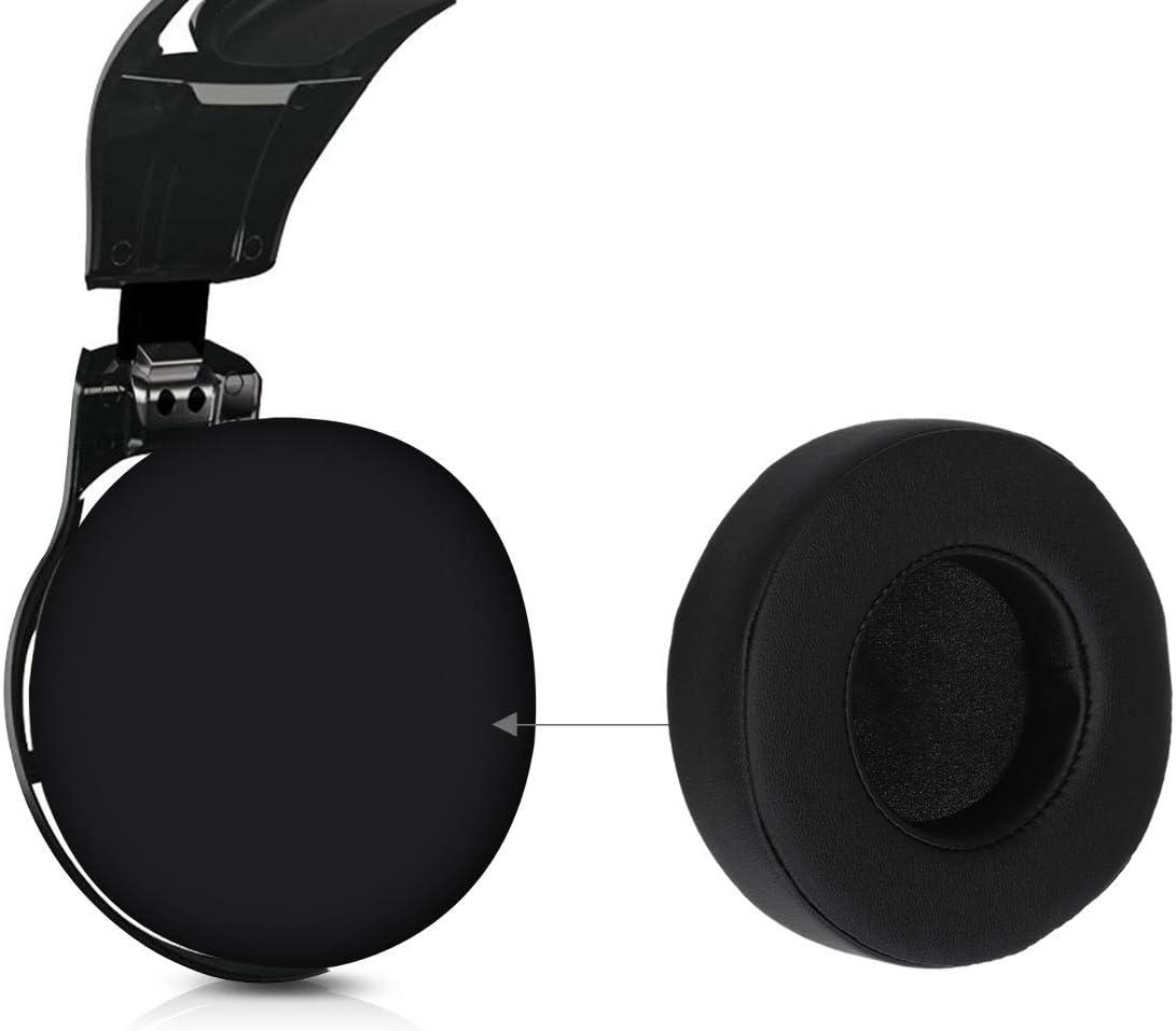 kwmobile 2X Almohadillas para Auriculares Compatible con Razer ManOWar 7.1 Almohadilla de Cuero sint/ético para Cascos Overwatch