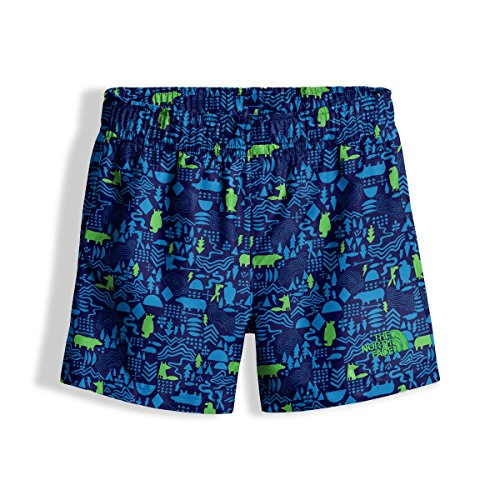 Price comparison product image The North Face Toddler Hike & Water Short - Cosmic Blue Wild West Critters Print - 4T