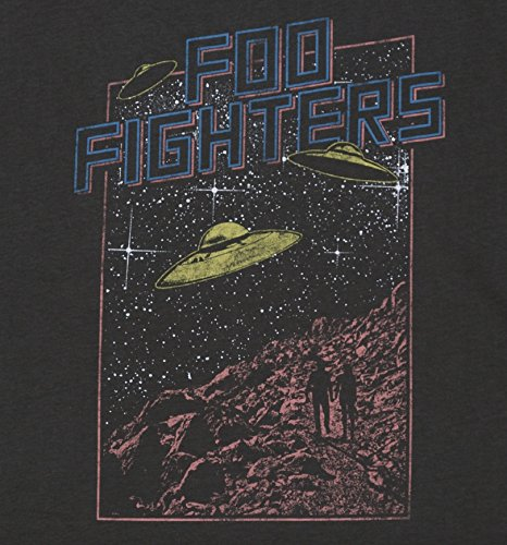 Amplified Flying Grey Uomini Saucers Fighters T Foo Shirt Slate 51XnqH