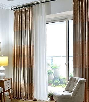 Amazon De Curtains Verdunkelungsvorhange Wohnzimmer Schlafzimmer