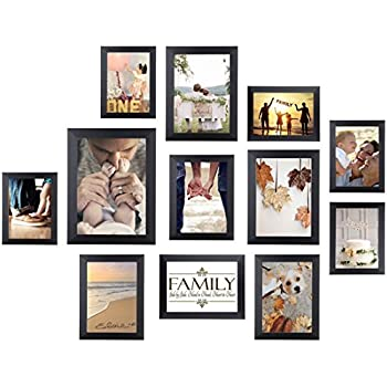 Amazon.com: SONGMICS Picture Frames Set of 10 Photo Frame - Two 8x10 ...