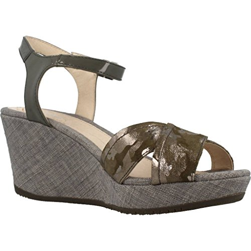 Marlene Wedge Heels Sandals 5 Grey Women's Ii Stonefly SFCgqg