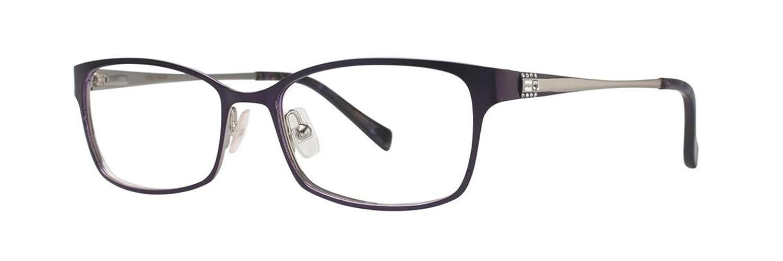 VERA WANG Eyeglasses V350 Plum 53MM