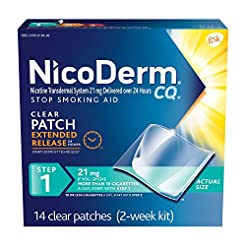 NicoDerm CQ Nicotine Patches to Quit Smo...