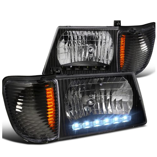 1995 Ford Econoline E350 Cargo Camshaft: Ford Econoline LED Projector Headlights, LED Projector