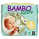 Bambo Nature Premium Baby Diapers, Size 3 (11-20 lbs), 198 Count (6 Packs of 33)