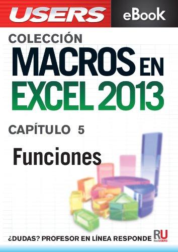 Macros en Excel 2013 PDF