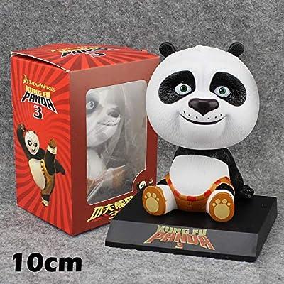 Amazon.com: Kung Fu Panda 3 Po Bobble Head Shaking Head Cute ...