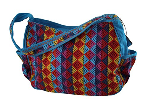 9 X Bag Tote 12 Hobo Laurel Tote Burch 3 Multicolored Bags Whiskered 5 X Cotton Family Womens Medium 5 Inches 5 az6qv6w