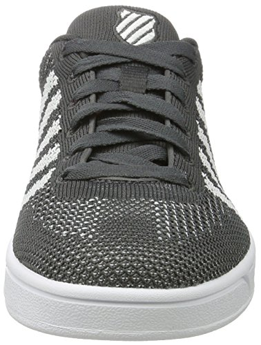 Grau dark White Addison Pique Swiss Erwachsene Sneakers K Unisex Shadow YwxfgaHYq