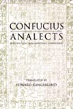 Analects : With Selections from Traditional Commentaries, Confucius, 087220636X