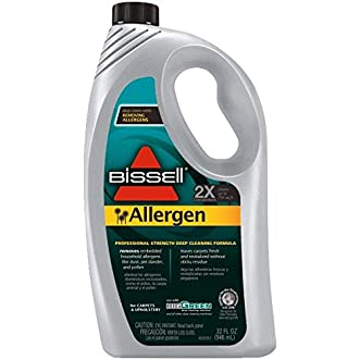 Allergen 2X Deep-Cleaning Formula For Bissell Biggreen Commercial Carpet Cleaning Machine - Case Of 6