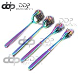 DDP Set of 4 Wartenberg Neurological Pin Wheel Pinwheel 2, 3, 5, 7 Head Diagnostic Multi Color Rainbow
