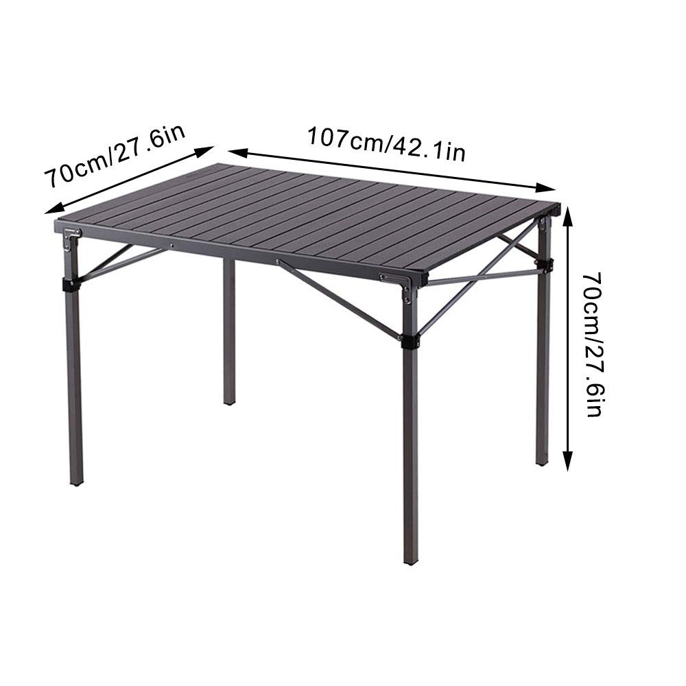 - Amazon.com: ZK Travel Table With Storage Bag, 4 Foot Folding