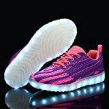 BEGT Kids Boys Girls LED Shoes Breathable Light