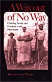 A Way Out of No Way : Claiming Family and Freedom in the New South, Swann-Wright, Dianne, 0813921368