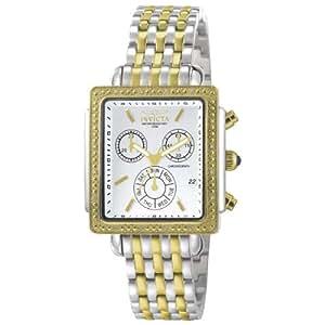 Invicta Women's 5374 Square Angel Diamond Two-Tone Chronograph Watch