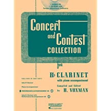Rubank Concert And Contest For Clarinet - Accompaniment CD