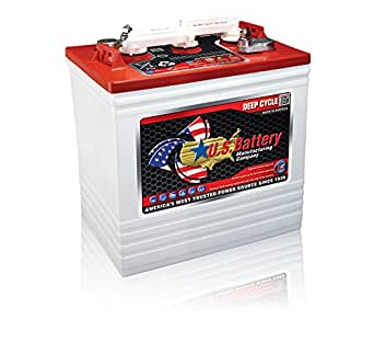 Amazon.com: Golf Cart Battery US2200 XC2 6-Volt (Minimum ...