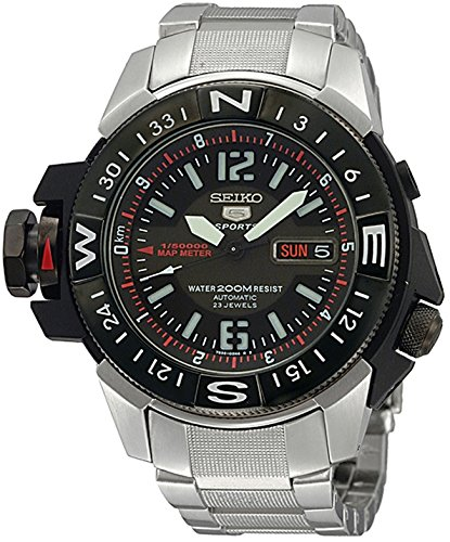 Seiko Men's SKZ229K1 Black Dial Seiko 5 Watch