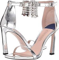 Women's Crystal Strap High Heels