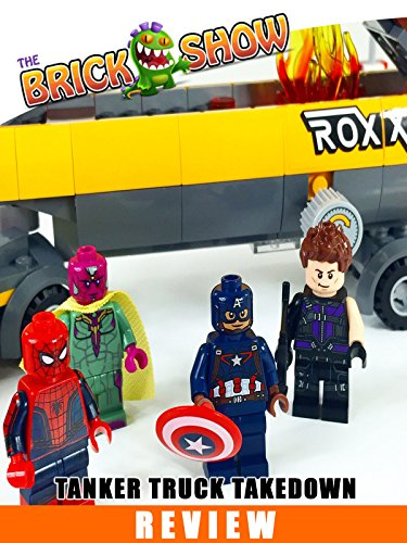 LEGO Marvel Superheroes Tanker Truck Takedown Review (76067) (Marvel Comics Movies compare prices)