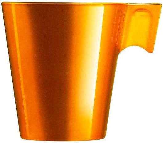 Xícara para Café Espresso Luminarc Flashy Dourada 80 ml - Cada por Luminarc