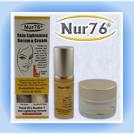 - Nur76® Skin Lightening Serum and Cream for Face