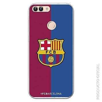 FC. Barcelona Carcasa Escudo FCB blaugrana para Huawei P Smart