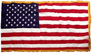 product image for US Flag 3X5 Foot SolarMax Nylon With Pole Hem & Fringe
