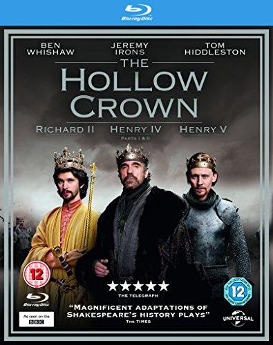 The Hollow Crown - 4-Disc Box Set ( Richard II / Henry IV (Parts 1 & 2) / Henry V ) [ NON-USA FORMAT, Blu-Ray, Reg.B Import - United Kingdom ]