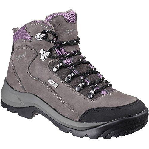 Cotswold Mens Bath Waterproof Hiker Hiking Trekking Walking Boots Grey