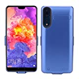 Scheam Huawei P20 Pro Battery Case, Women External Protective Battery Cover for Huawei P20 Pro Juice Pack Case [Women ] - Blue