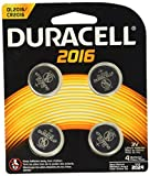 DURDL2016B4PK - Duracell Button Cell Lithium Battery 2016