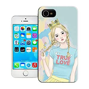 Unique Phone Case Watercolor girl#14 Hard Cover for 5.5 inches iphone 6 plus cases-buythecase