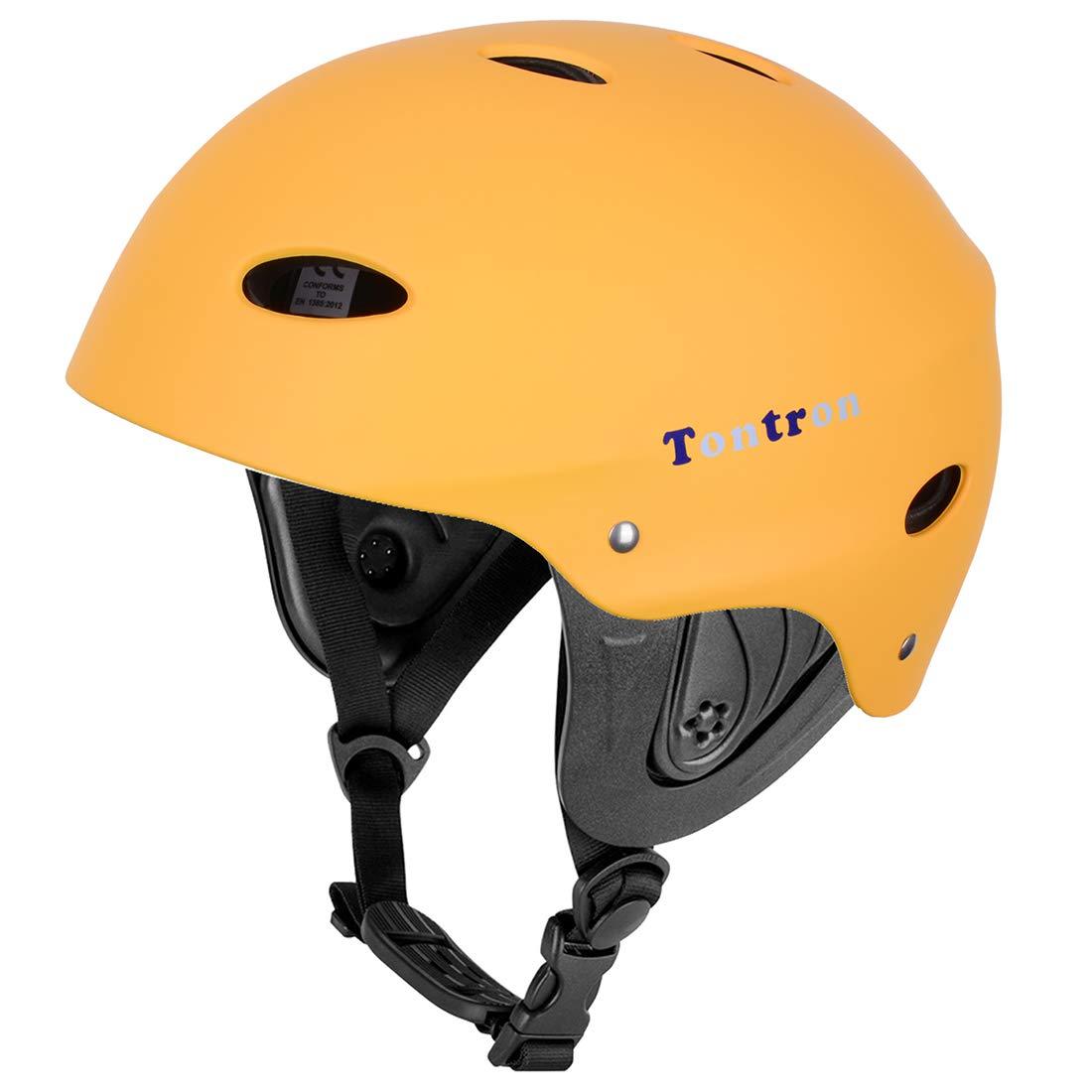 Tontron Water Helmet (Matte Sunny Yellow, Medium) by Tontron