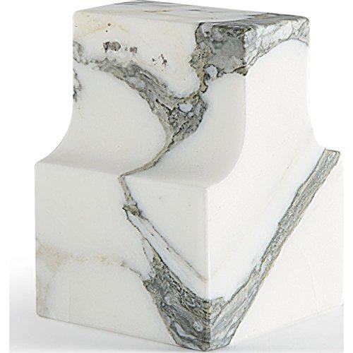 ATIPICO Classico Coll. Paperweight, Arabescato Marble by Atipico
