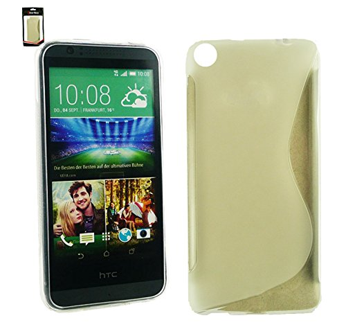 Emartbuy® HTC Desire 820 TPU Gel Funda Carcasa Case CoverAztec Claro Ultrafina Gel