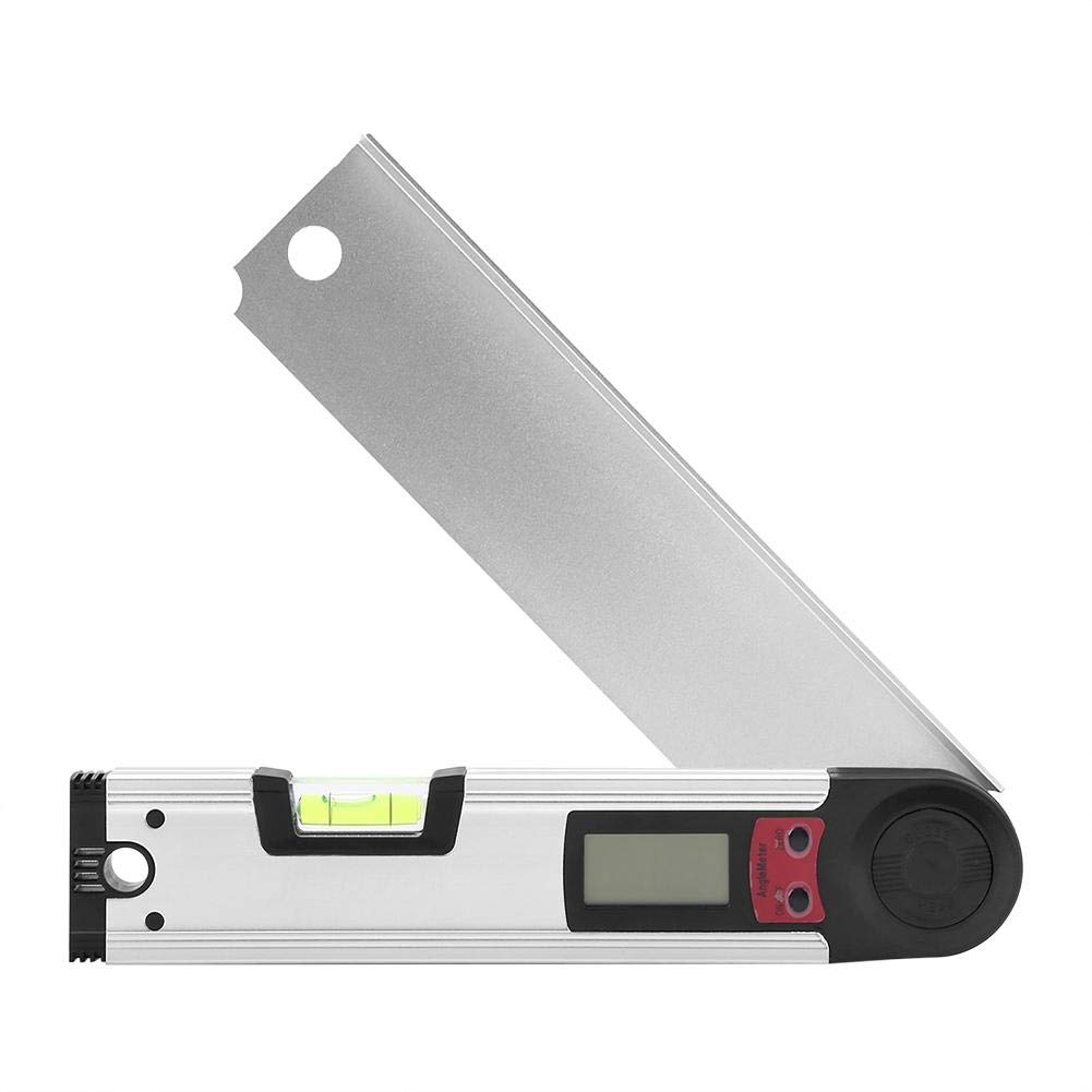 Digital angle finder-high precision protractor inclinometer angle meter level gauge ruler tool teaching drawing used for garden maintenance