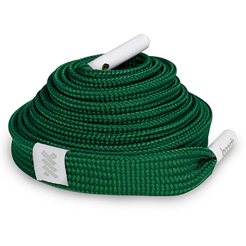 Shoelace Belt - Forest Green: Soft, durable, comfortable,100% polyester - Lacorda Threads from Lacorda Threads
