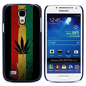 Graphic4You Marijuana Cannabis Weed Hemp Leaf Smoker Design Hard Case Cover for Samsung Galaxy S4 Mini