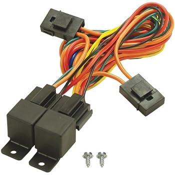 amazon com derale 16788 high amperage dual fan controller push in Flex It Tens Unit Probe Wire Harness derale 16765 electric fan dual relay wire harness