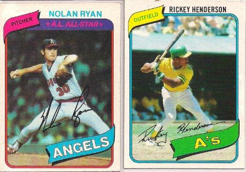 1980 Topps Baseball Complete Set Henderson Rookie ()